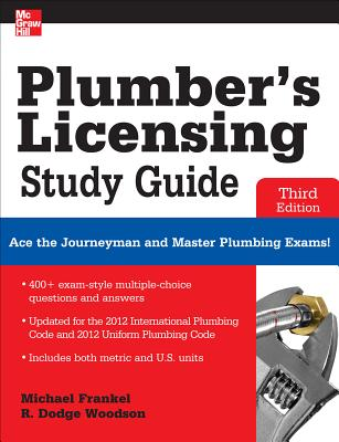 Plumber's Licensing Study Guide By Frankel, Michael/ Woodson, R. [Study Guide Edition]